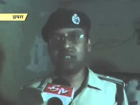 Police raid an illicit liquor factory in Chhapra
