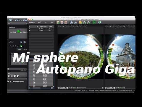 Tuto Autopano Giga + Mi sphère