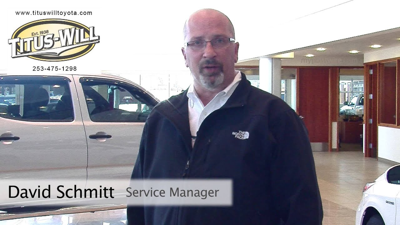 Titus Will Toyota Express Service Video