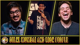 Delhi, Mumbai & Rich People Reaction and Discussion | Stand up Comedy by Abhishek Upmanyu