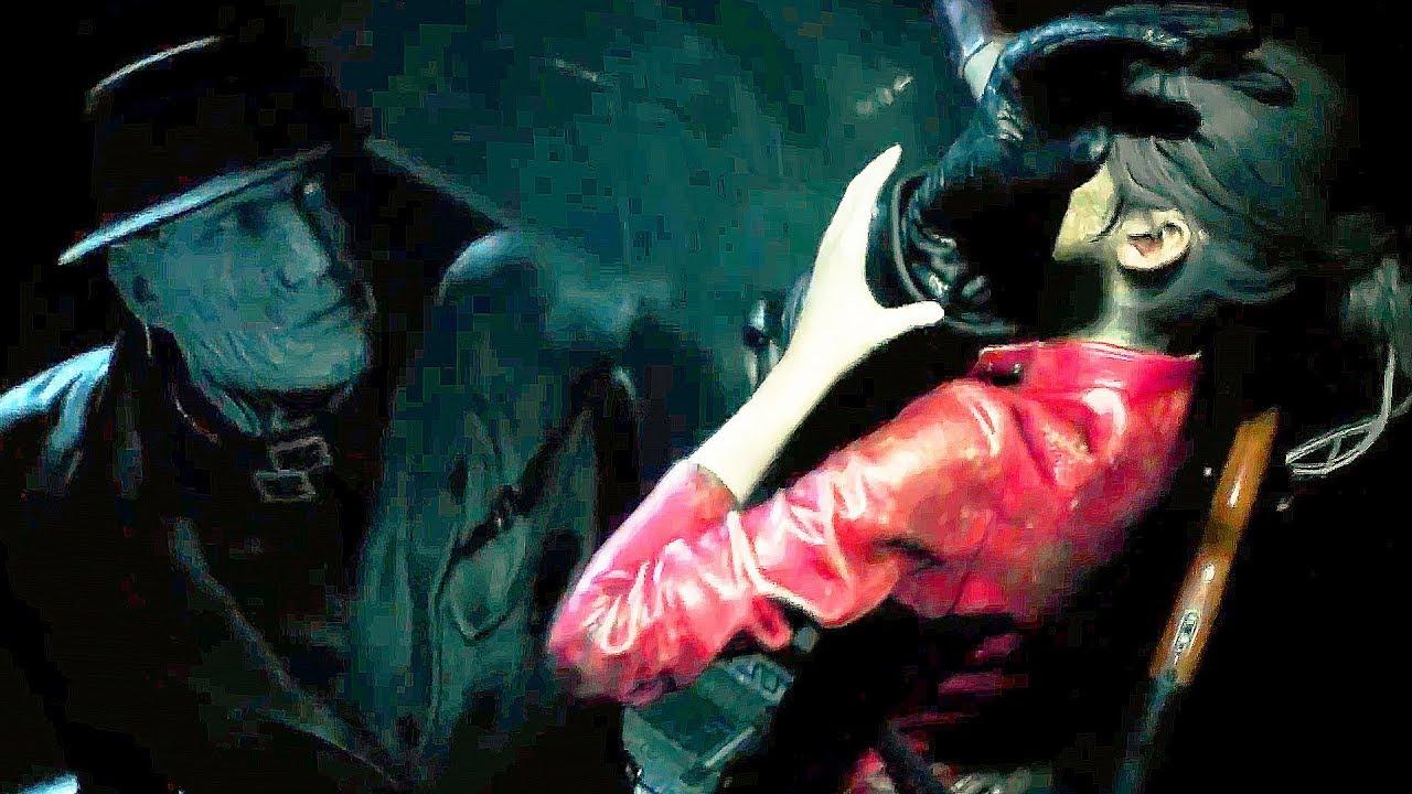 Resident Evil 2 Remake New Mr X Tyrant Boss Fight