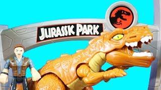 Imaginext Jurassic World Fallen Kingdom Dinosaur Research Lab And Stygimoloch & Owen Toy Review