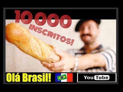10 000 INSCRITOS!!!! OLÁ BRASIL!