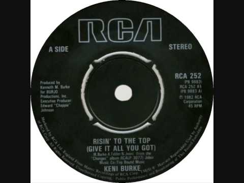 Keni Burke - Risin' To The Top (Dj