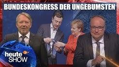 Die Junge Union sagt ihre Revolution gegen Merkel ab | heute-show vom 12.10.2018