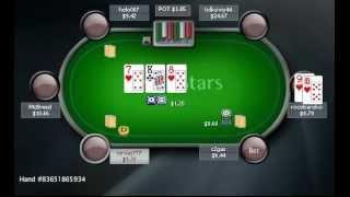 Раздача дня школы PokerStarter: Розыгрыш стрит-флеш-дро