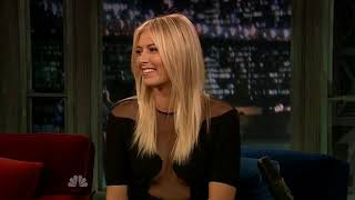 Maria Sharapova on Fallon & Letterman