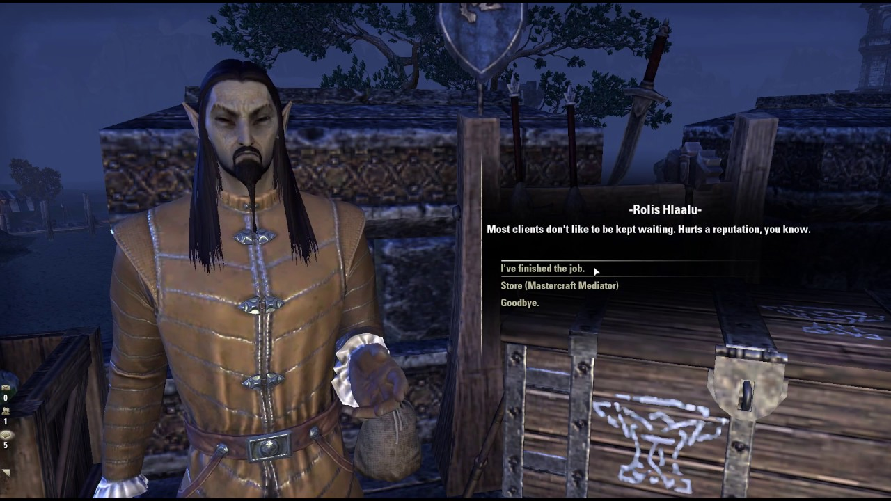 Hlaalu S Furnisher Document Elder Scrolls Online Youtube