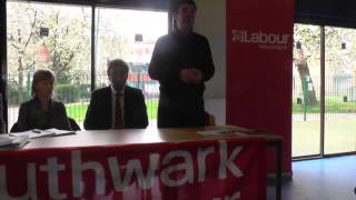 "Andy Burnham MP 12/4/14 ""The NHS should be the number one issue"""