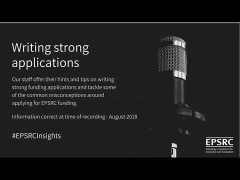 Writing Strong Applications