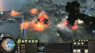 Company of Heroes - Gameplay FR007 3VS3 Le Scheldt