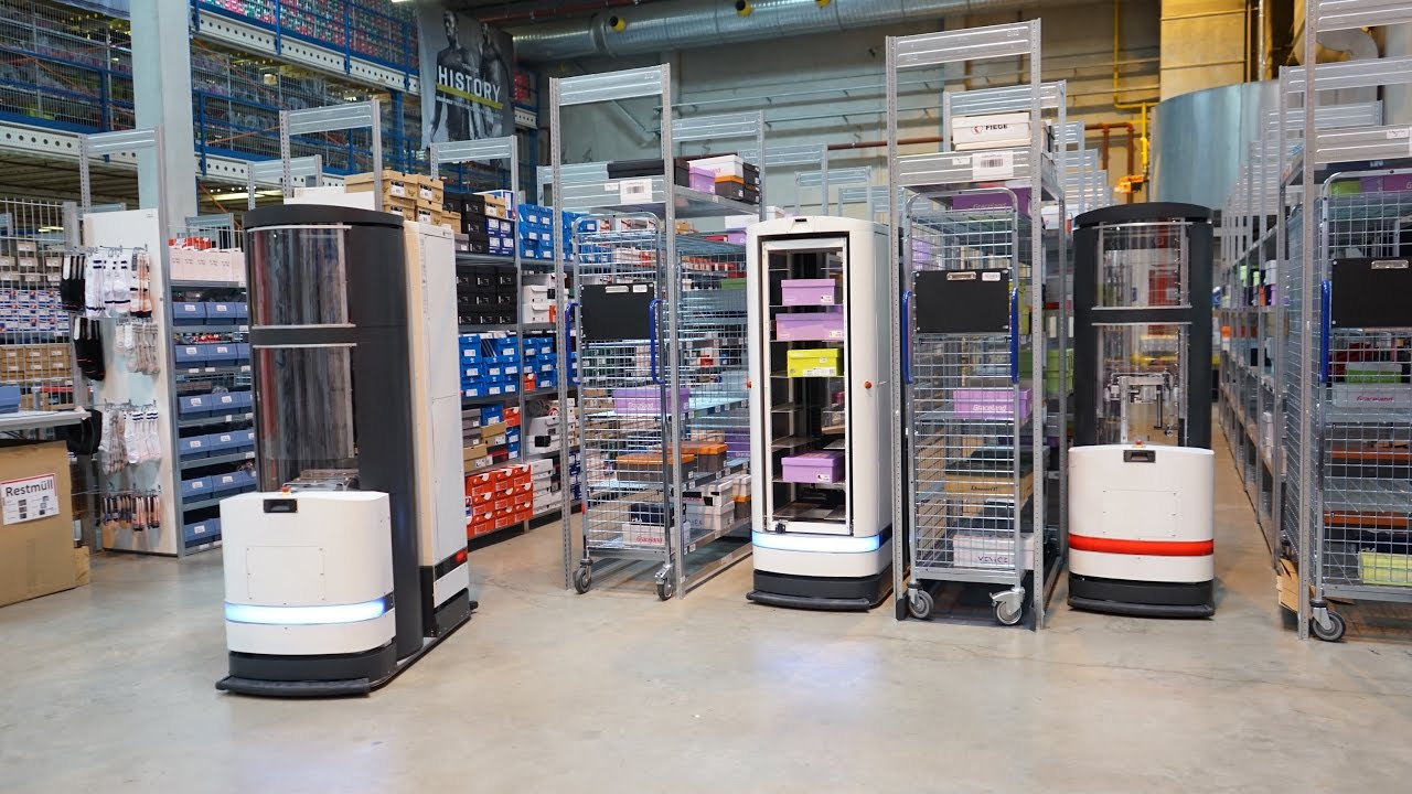 Pick By Robot Warehouse Automation With Magazino At Fiege