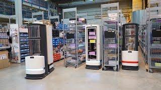 Pick-by-Robot: warehouse automation with Magazino at FIEGE Logistik
