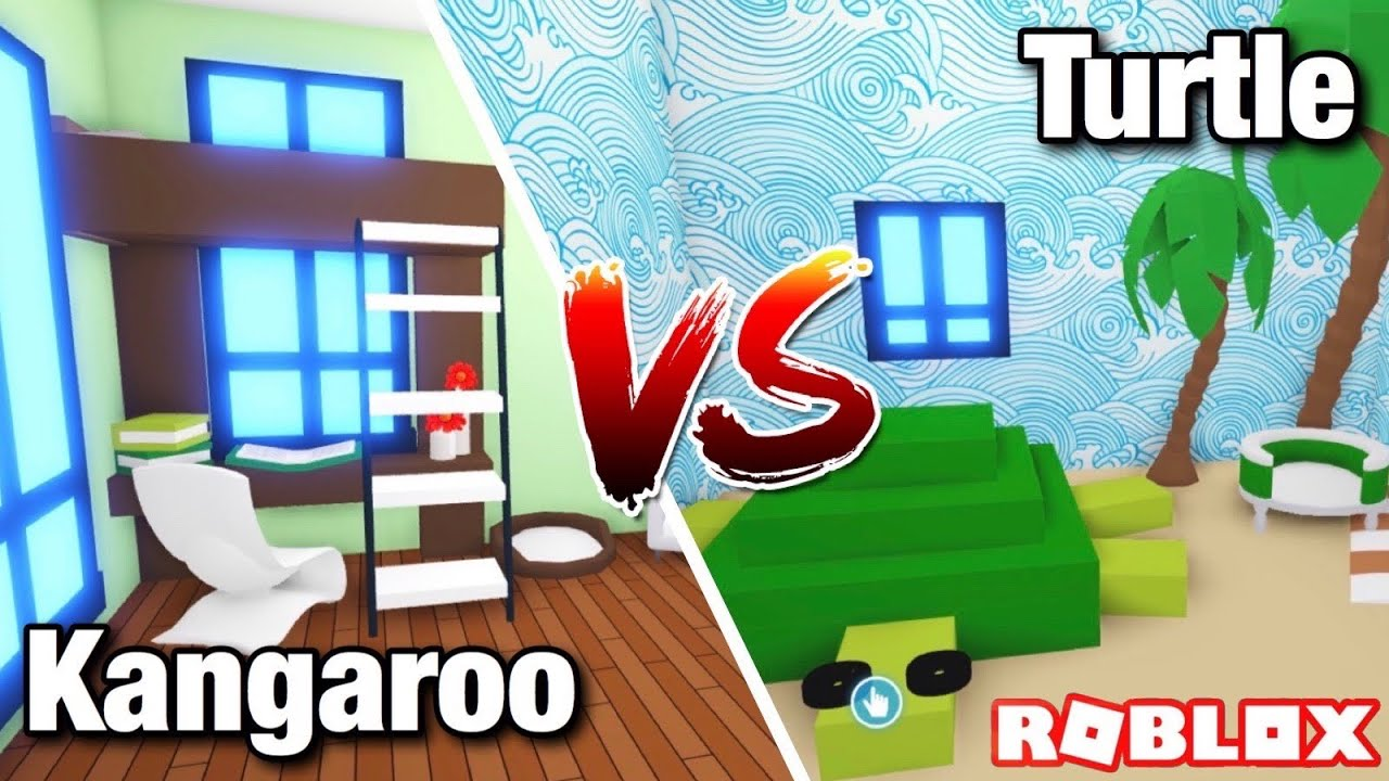 Turtle Vs Kangaroo Bedroom Design Ideas Building Hacks Adopt Me