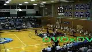 Crazy High School Dunk Off the Backboard