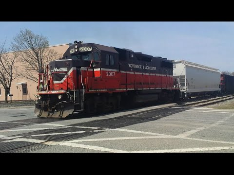 Freight Trains of Rhode Island: Providence & Worcester Railroad