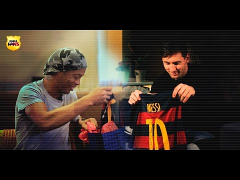 Messi & Ronaldinho: The 10s gift