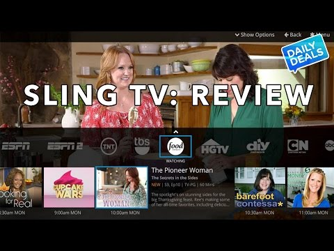 Sling TV: Cut The Cord For $20 - Review & Demo