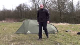 Vaude Taurus II 3P: Pitching and first impression