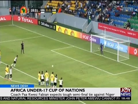 Africa Under-17 Cup of Nations - Sports Desk on Joy News (24-5-17)