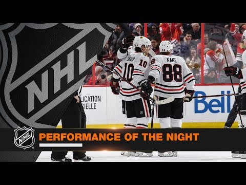 Patrick Kane leads Hawks with impressive five-point night