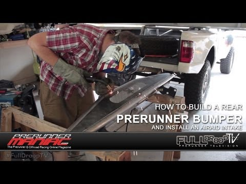 learn how to build a rear prerunner bumper on a ranger. Black Bedroom Furniture Sets. Home Design Ideas