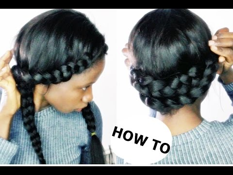 HOW TO DO QUICK AND EASY HAIRSTYLES USING A WIG
