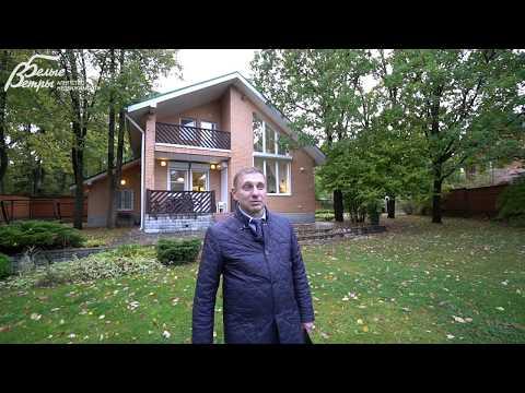 Уютный кирпичный дом на парковом участке в Михайловском на Калужском шоссе