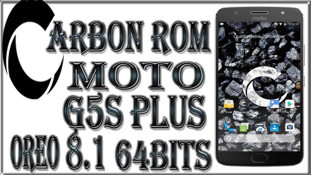 🔴ROM CARBON 6 1CR-CONFIDENTIAL 8 1 OREO 64BITS/ TESTADO NO MOTOG5S  PLUS/XT1802-SANDERS