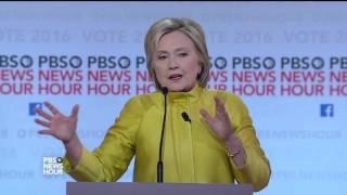 Gambar cover Sanders and Clinton debate health care