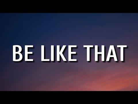 Kane Brown, Swae Lee & Khalid – Be Like That (Lyrics)
