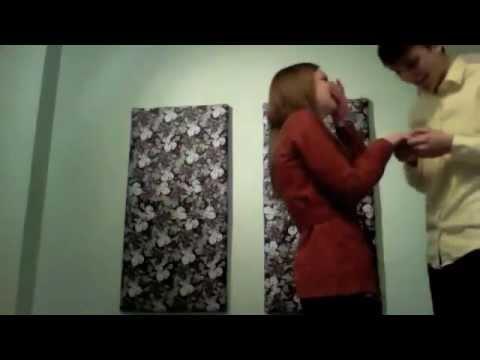 Brandon and Karina, Surprise Proposal: February 2012