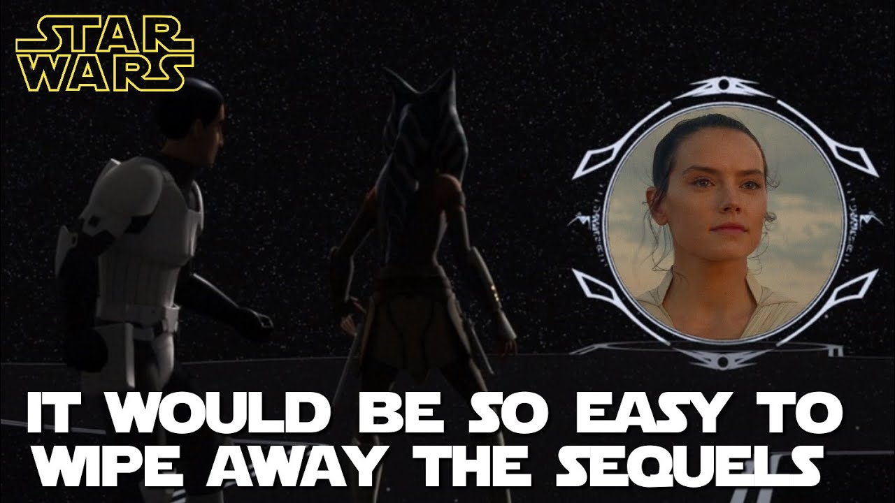 Disney/Lucasfilm have abandoned the Sequel Trilogy.  This is how it could now be completely erased.