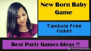 New born baby party game/ Baby jalwa Tambola game/ New born baby boy game/ Creative Apurva Jain
