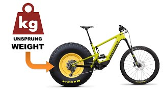 Unsprung weight & Suspension performance  (MTB Rear Ep. 22)
