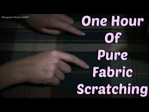 ASMR Pure Fabric Scratching *No Talking*