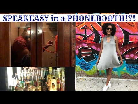 Speakeasy in a Phonebooth!? | NYC