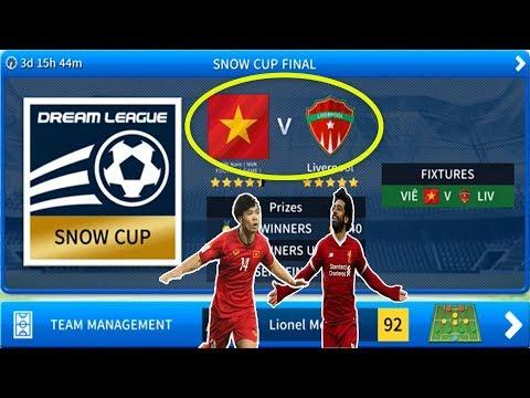 "Việt Nam vs Liver chế độ ""EVENTS"" Dream League Soccer 20019"