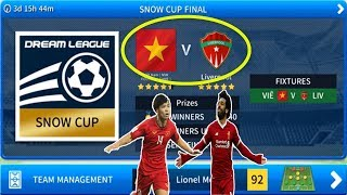 "Việt Nam vs Liver chế độ ""EVENTS"" Dream League Soccer 20019 Video"
