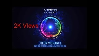 how to download and install color vibrance plug-ins free for adobe after effects-2018 &%