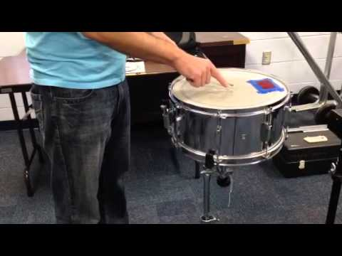 5 minute drum lesson setting snare drum wire tension youtube. Black Bedroom Furniture Sets. Home Design Ideas