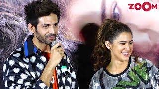 Love Aaj Kal trailer launch | Kartik Aaryan and Sara Ali Khan's FUN media interaction |Bolly Quickie
