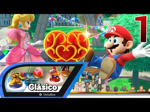 ✤ Super Smash Bros. Wii U ✤ | Modo Clásico c/MARIO [FULL HD|60fps]