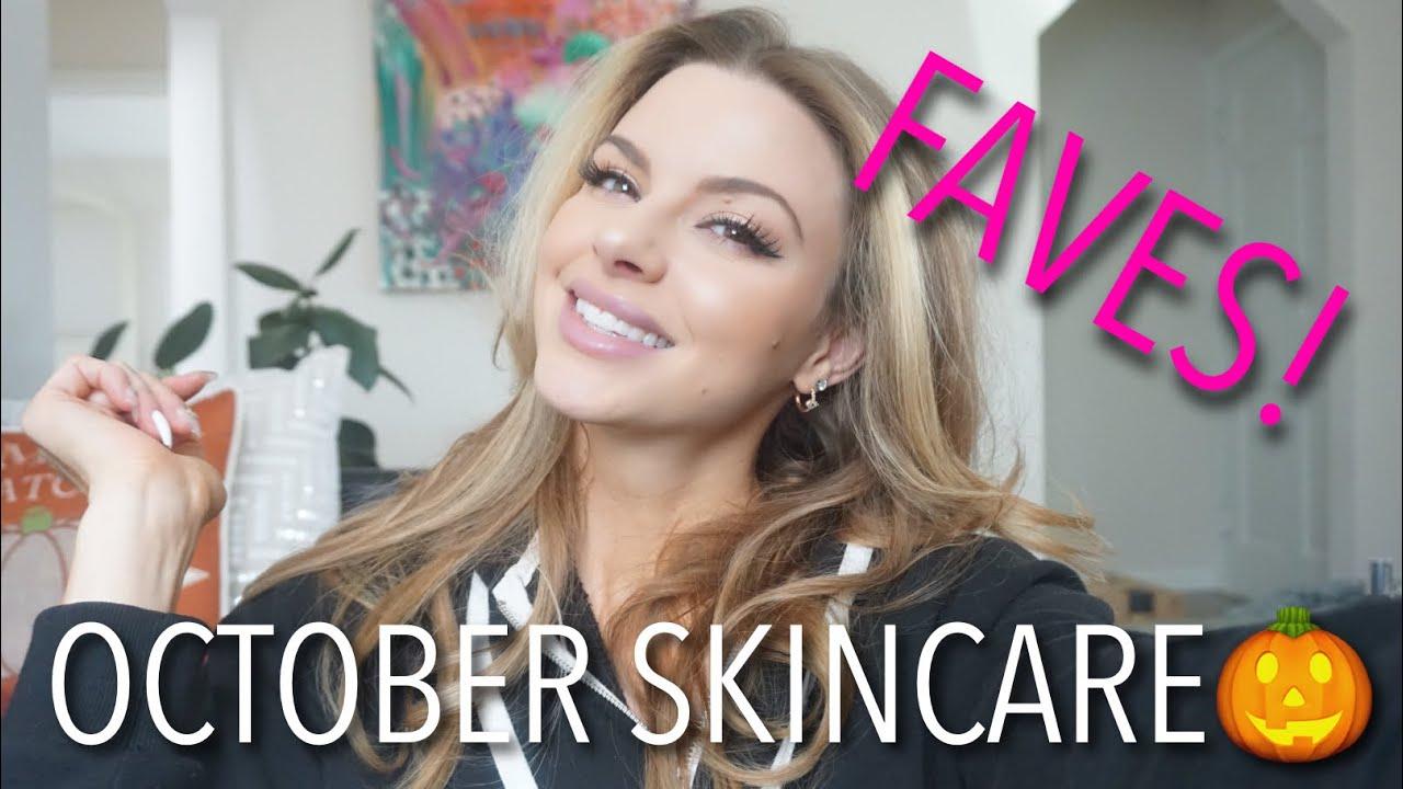 october favorites🎃!! skincare | bauer beauty
