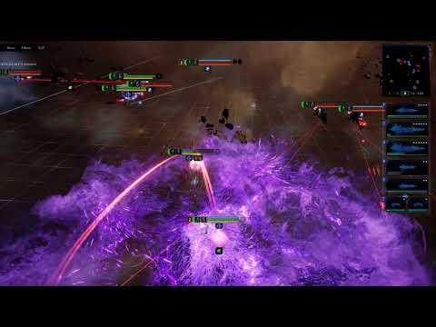 Battlefleet Gothic Armada  2 Skirmish - Chaos(Tzeentch) vs. Adeptus Mechanicus |