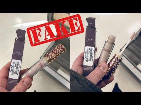 FAKE Tarte Shape Tape Concealer At Marshalls !!!