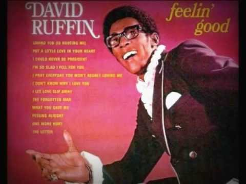 "DAVID RUFFIN -""I'M SO GLAD I FELL FOR YOU"" (1969)"