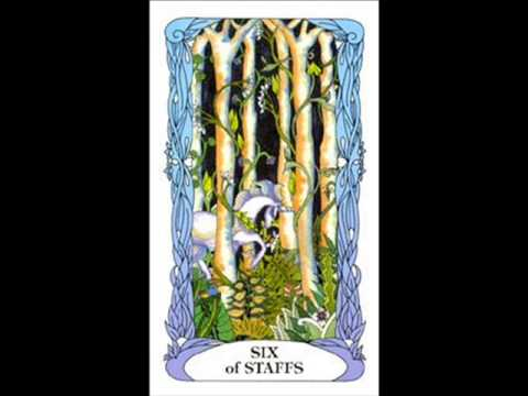 Review Of The Tarot Of The Moon Garden Youtube