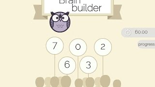 Brain Builder Game Walkthrough