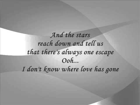 Spandau Ballet - Through The Barricades (Lyrics)